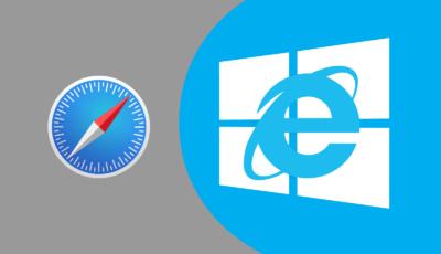 MacのSafariのユーザーエージェント機能でインターネットエクスプローラー(Internet Explorer)を使う方法