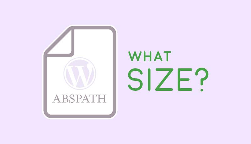 WordPressにアップロードした画像やPDFなど、各メディアのファイルサイズを取得するにはABSPATHを使う