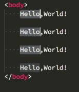 vscodeで複数選択