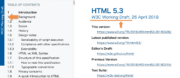 HTML5.3 WD